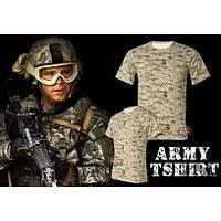 Army Bdu Tshirt Digital Desert Camo