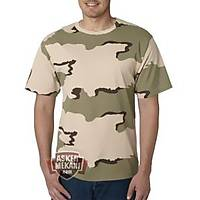 Army Bdu Tshirt  Desert Camo