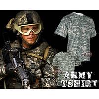 Army Bdu Tshirt  Digital Acu Camo