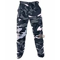 Military Pants Gray Urban Camo