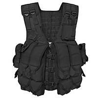 Us AK74/AK 47 Tactical Combat Vest Black