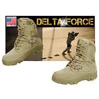 Delta Force Tactical Desert Zipper Boots