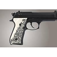 Us Beretta 92 Engraved Ivory Polymer - Boneyard