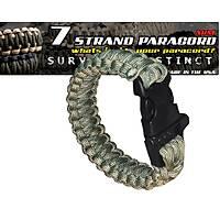Outdoor Paracord Bracelet Acu Camo