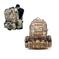 US Tactical Molle Assault Backpack Bags Multicamo