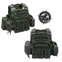 Black Storm Tactical Vest Olive
