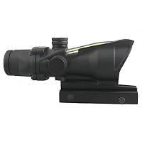 Army 4X Fiber Optik Green Sight