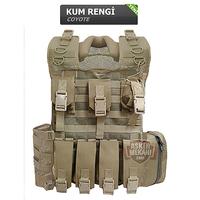 Military Coyote Plates Vest