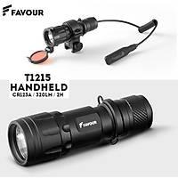 Flashlight Tactical Kit - 320 lumens