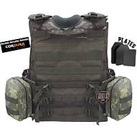Military Nano Universal plates Vest HK33,G3,M16,AK-47