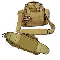 Molle Utility Gear Assault Waist Pouch Bag Coyate Brown