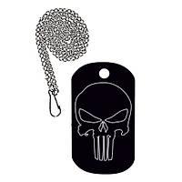 Punisher Taktik Künye Siyah