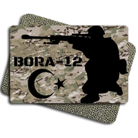 Bora-12 Tactic Metal Patch