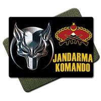 Börü Jandarma Komando Tactic Metal Patch