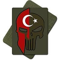 Spartan Tactic Metal Patch