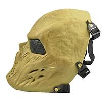 Tactical Full Skull Maske KHAKI