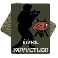 Sniper Özel Kuvvetler Tactic Metal Patch