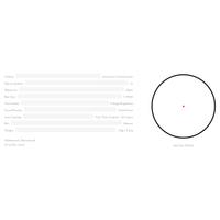 Hawke Reflex Sight Weaver Red Dot Niþangah