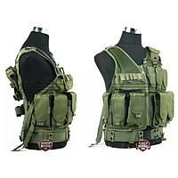 Tactical Combat Vest Olive Green
