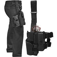 Tactical Special Black Holster Bacak Kılıfı