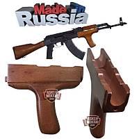 AK-47 Orjinal Rus Ahþap Tutamaçlý Alt Kundak