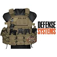 Defence Systems Elite Tactical Vest Coyote