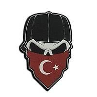 Cordura Kumaþ Baský Tactic Ayyýzdýz Buff Peç