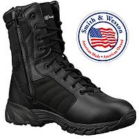 Smith & Wesson Black Side Zipper Boots
