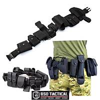 Tactical heavy duty belt set