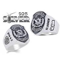 Polis Özel Harekat Türkiye Silver 925