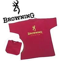 BROWNING TSHIRT BURGUND