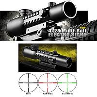 BARSKA TACTÝCAL ELECTRO SIGHT 4x28 IR
