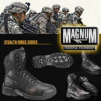 HI-TECH MAGNUM STEALTH FORCE 8.0 LEATHER/CORDURA