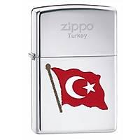 TURKÝSH FLAG COLOR ZÝPPO ÇAKMAK