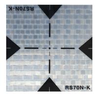 RS70N-K Kaðýt Reflektör (70x70)MM (Adet Fiyatý)