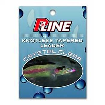 """P-LINE TAPERED LEADER CLEAR - 9"""" 4X"""