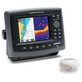 HUMMINBIRD MATRIX 97CX COMBO BALIK BULUCU/GPS CHARTPLOTTER.