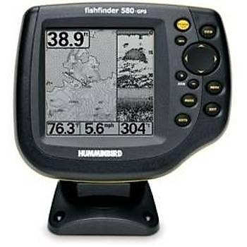 HUMMINBIRD 580 COMBO BALIK BULUCU/GPS CHARTPLOTTER.