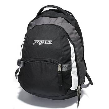 JANSPORT TRINITY BLACKCARBONIC GREY (rucksack)