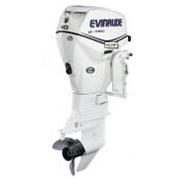 EVINRUDE E-TEC 40 HP UZUN ÞAFT MANUEL MOTOR