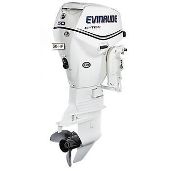 EVINRUDE E-TEC 50 HP MARÞLI TRÝMLÝ UZUN ÞAFT MOTOR