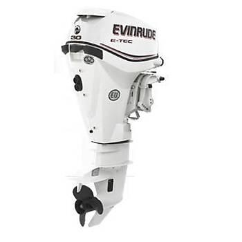 EVINRUDE E-TEC 30 HP MARÞLI TRÝMLÝ UZUN ÞAFT MOTOR