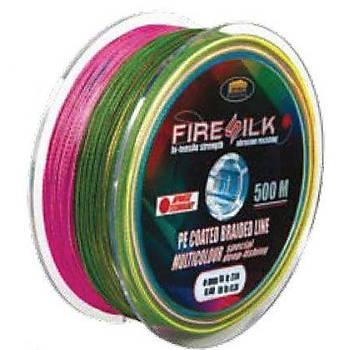 LINEAEFFE FIRE SILK BRAID LINE MULTICOLOR 0,60mm 500mt ÝP OLTA MÝSÝNASI