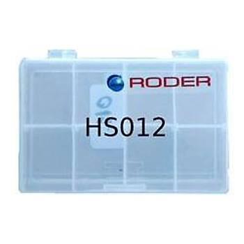RODER HS 012 TAKIM KUTUSU 8X12