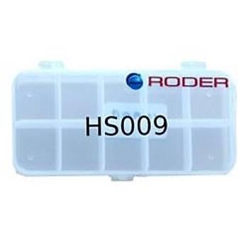 RODER HS 009 TAKIM KUTUSU 6X13