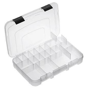 PLASTICA PANARO 501 Polypropylene tackle box with ergonomic seat