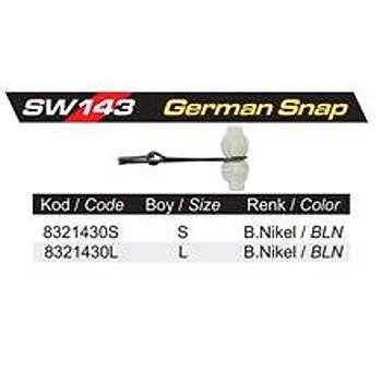 PROTACKLE SW143 GERMAN S SNAP (6 ADET)