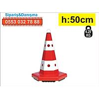 Trafik Konisi 12301 6 Kenar 50 cm