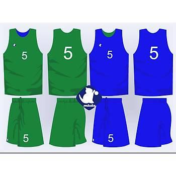 Basketbol Çift Taraflý Forma Þort / ÇT-1