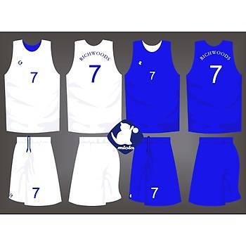 Basketbol Çift Taraflý Forma Þort / ÇT-2